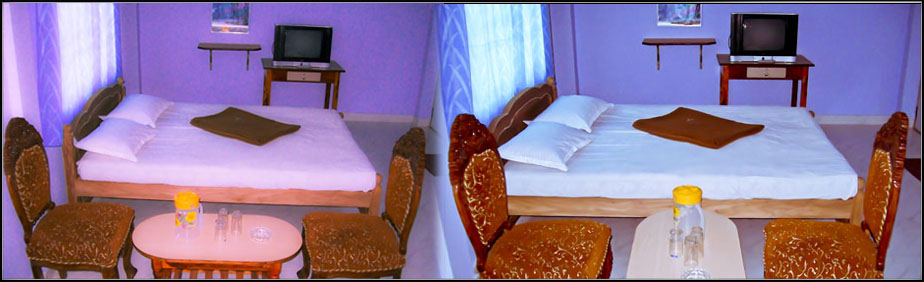 Aruvi Hotel, Boarding and lodging